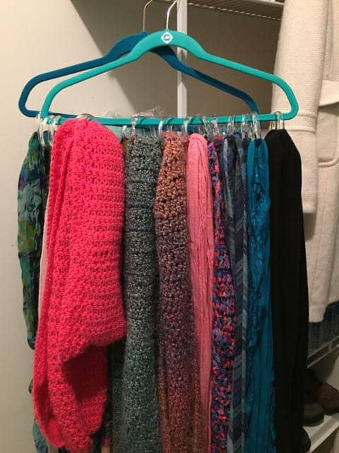 DIY Project: Make Your Own Scarf Holder