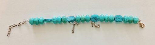 Camping in High Heels Clasp Bracelet