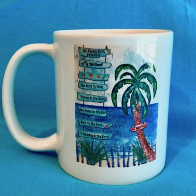 """The Florida Keys Novels"" Coffee Mug"