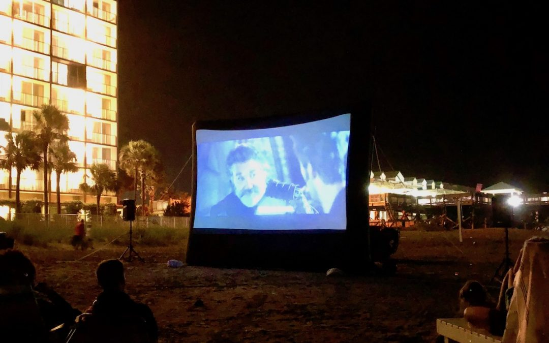 Let's Go To The Movies At The Beach