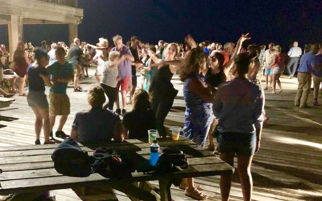 A Night At The Beach Dancing Under The Stars