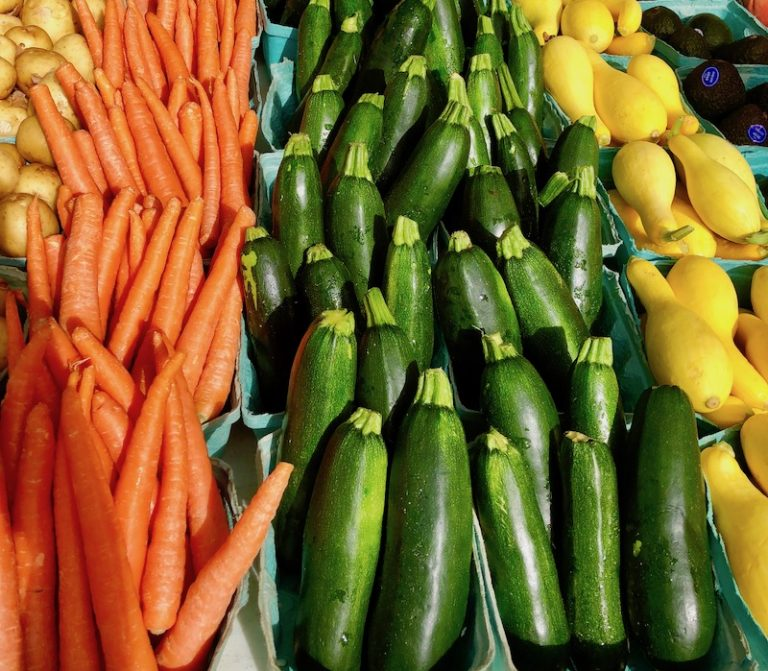 Zucchini, Squash, Fresh Produce, Farmer's Market, Buy Local