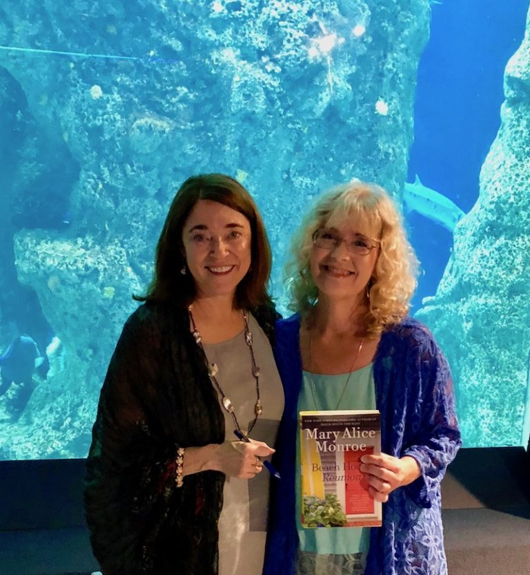 Best Selling Author, Miki Bennett, Mary Alice Monroe, Sea Turtles, Beach House, Novel, Book, Reading,