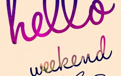The Weekend Is Here! Any Fun Plans???