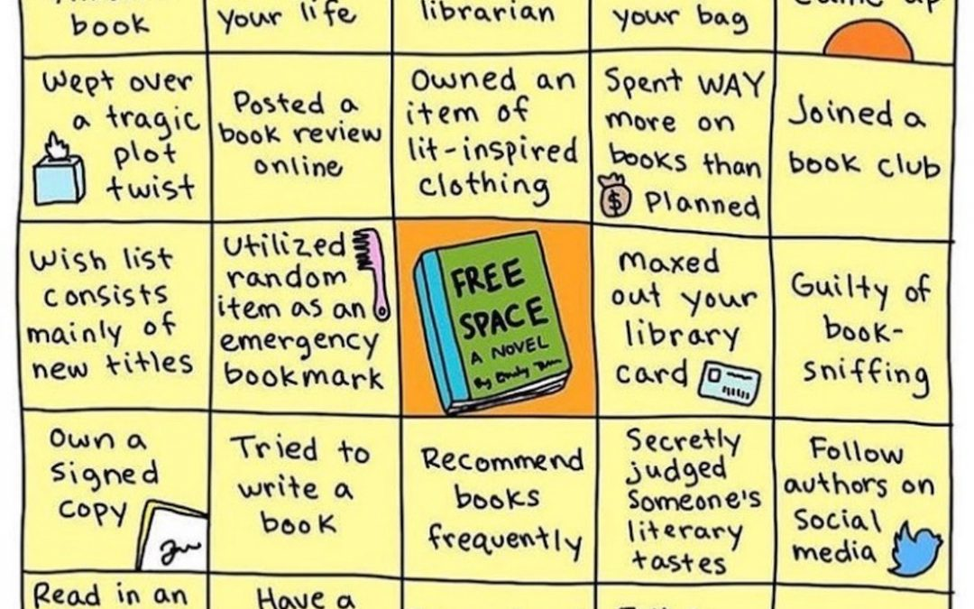 Time For Some Fun! Let's Play Bookworm Bingo!