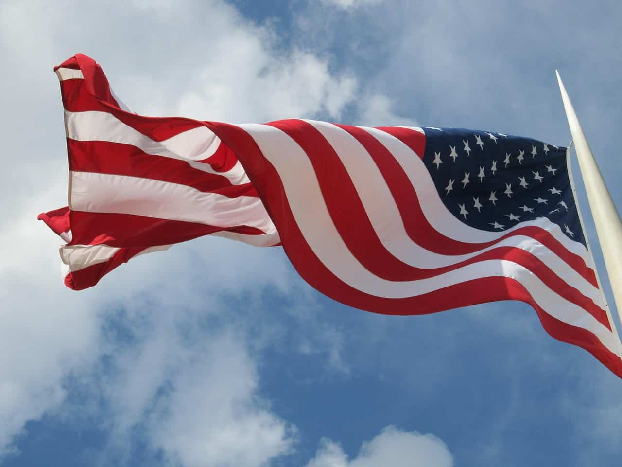 It's Election Day - Right To Vote - American Flag