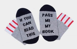 Socks, Christmas Gift, gifts, Presents, Book Socks, Clothing