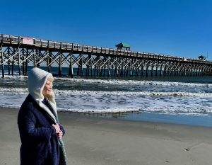 lessons from writing a novel, beach, pier