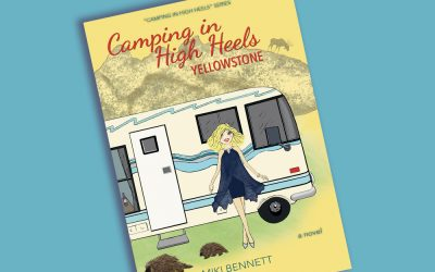 """It's Online Book Party Fun With """"Camping in High Heels: Yellowstone""""!"""