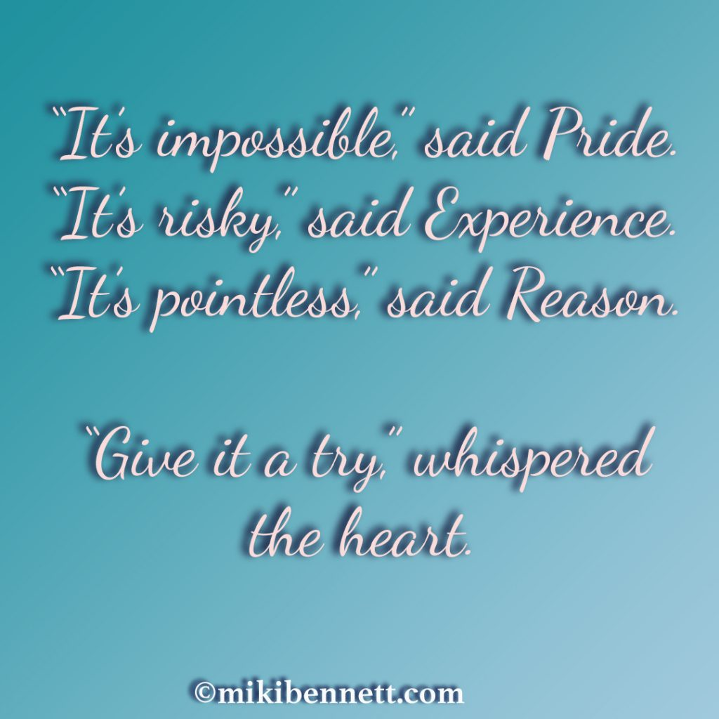 Give It A Try - Quote
