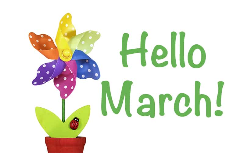 March, Spring, Flowers