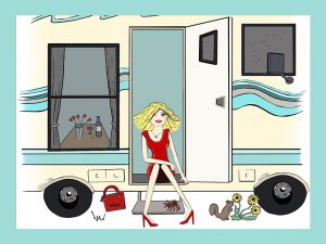 Camping in High Heels, Camping, Rv, Motor Homes, Travel Trailers, Books, Novels,