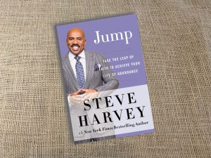Steve Harvey, Jump, Inspirational Book, Reading, Writing, Book,