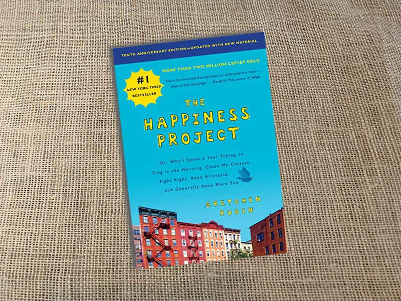 Book, The Happiness Project, Gretchen Rubin, Reading