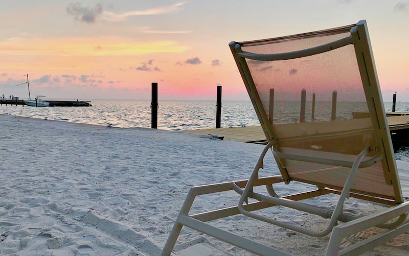 Beach, Florida, Florida Keys, Islamorada, Beach Chair, sunrise, Sunset, Beach sunset, Beach Sunset, Sand